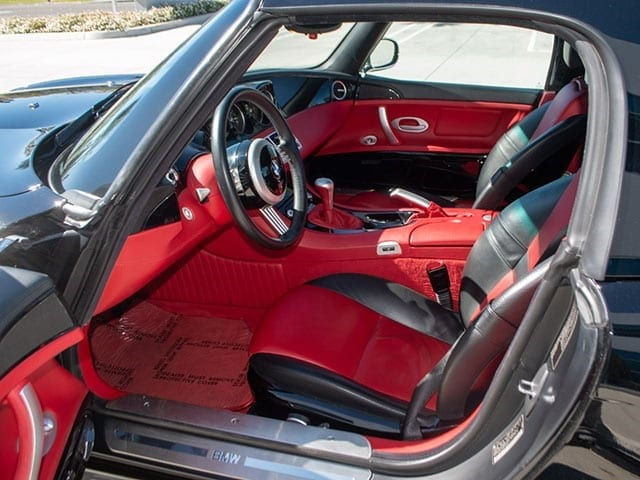 2001 bmw roadster interior