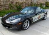 2008 Black Corvette Indianapolis 500 Pace Car Coupe 0560 Copy