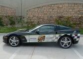 2008 Black Corvette Indianapolis 500 Pace Car Coupe 0561 Copy