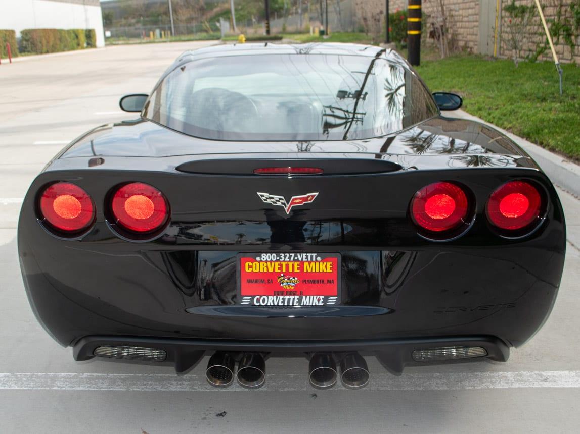 2008 Black Corvette Indianapolis 500 Pace Car Coupe 0563 Copy