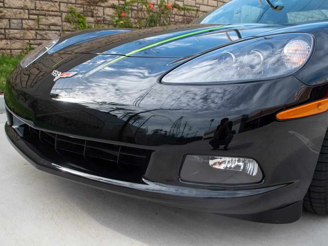 2008 Black Corvette Indianapolis 500 Pace Car Coupe 0564 Copy