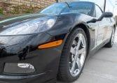 2008 Black Corvette Indianapolis 500 Pace Car Coupe 0565 Copy