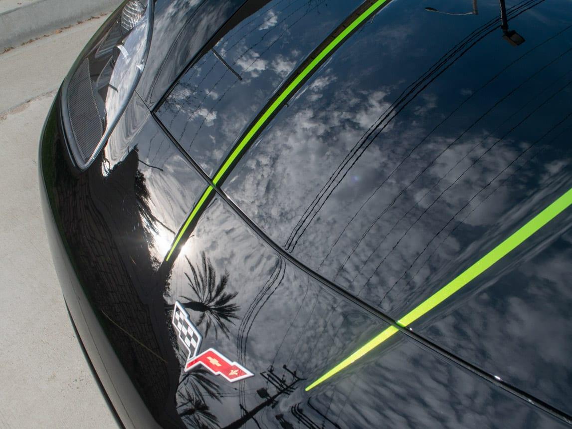 2008 Black Corvette Indianapolis 500 Pace Car Coupe 0566 Copy