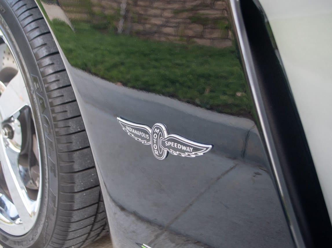 2008 Black Corvette Indianapolis 500 Pace Car Coupe 0582 Copy