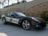 2008 Black Corvette Indianapolis 500 Pace Car Coupe Copy