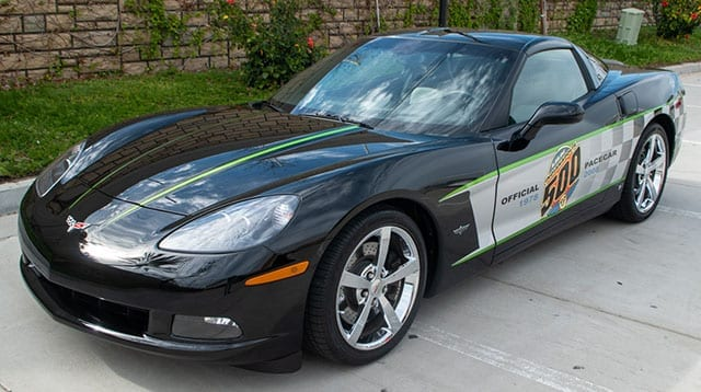2008 black corvette indianapolis 500 pace car coupe coming 2