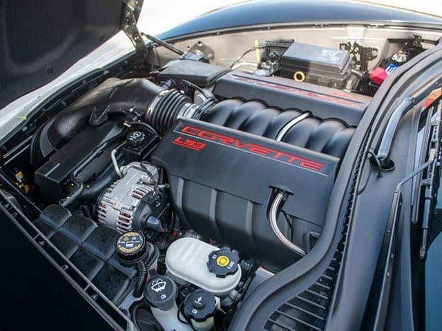 2008 black corvette indianapolis 500 pace car coupe engine 1
