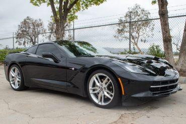 2015 Black Corvette 2LT Coupe Manual Transmission 0753