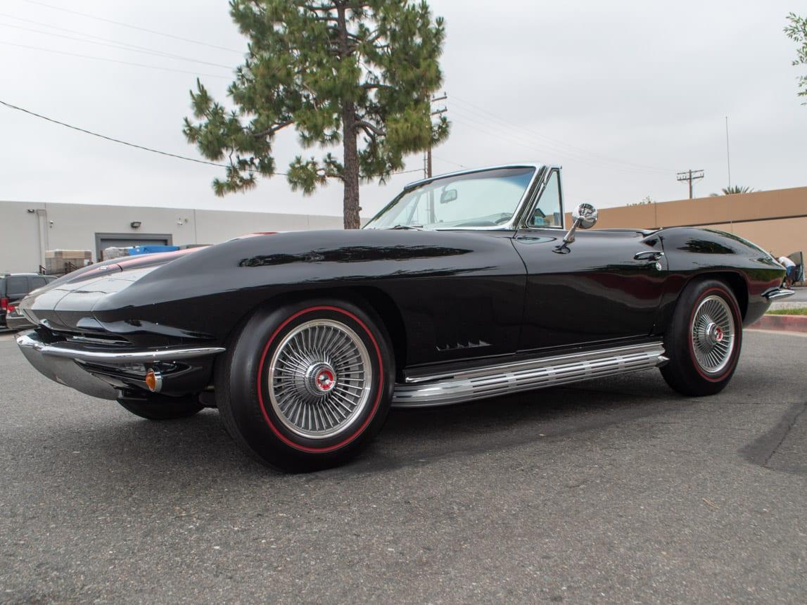 1967 Black Corvette L71 Convertible 1368