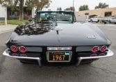 1967 Black Corvette L71 Convertible 1370