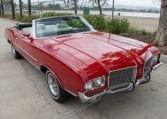1971 Red Oldsmobile Cutlass Convertible 0985