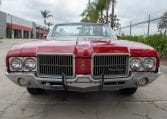 1971 Red Oldsmobile Cutlass Convertible 0986