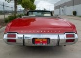 1971 Red Oldsmobile Cutlass Convertible 0989