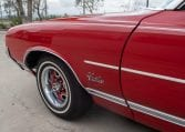 1971 Red Oldsmobile Cutlass Convertible 0993
