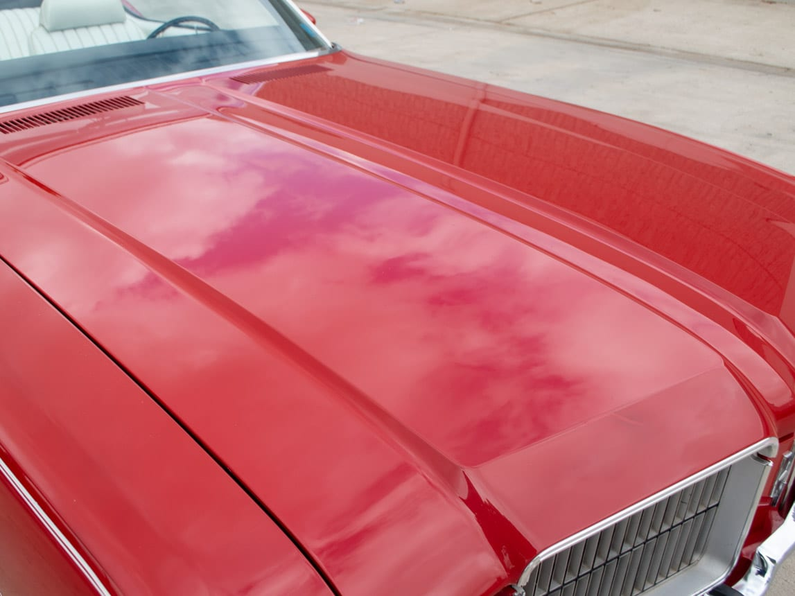 1971 Red Oldsmobile Cutlass Convertible 0998
