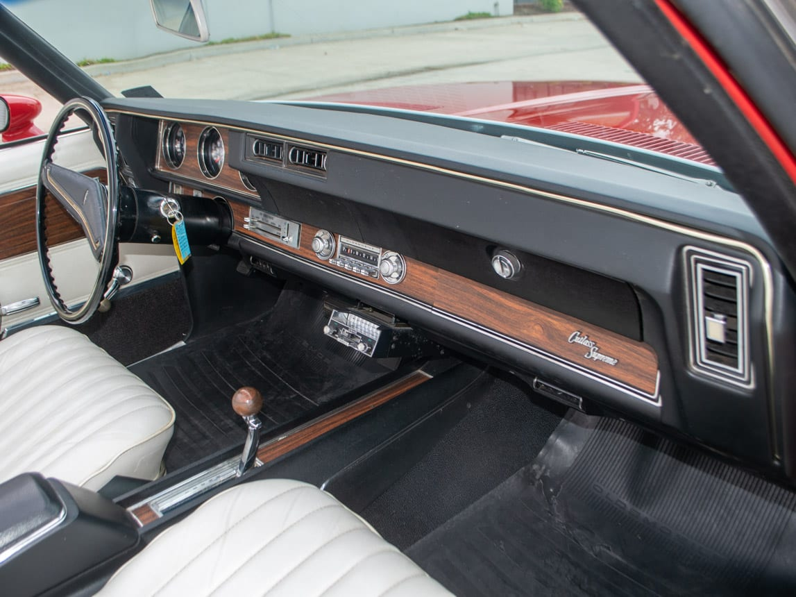 1971 Red Oldsmobile Cutlass Convertible 1004
