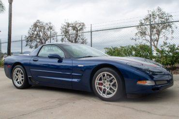 2004 Blue Corvette Z06 0803