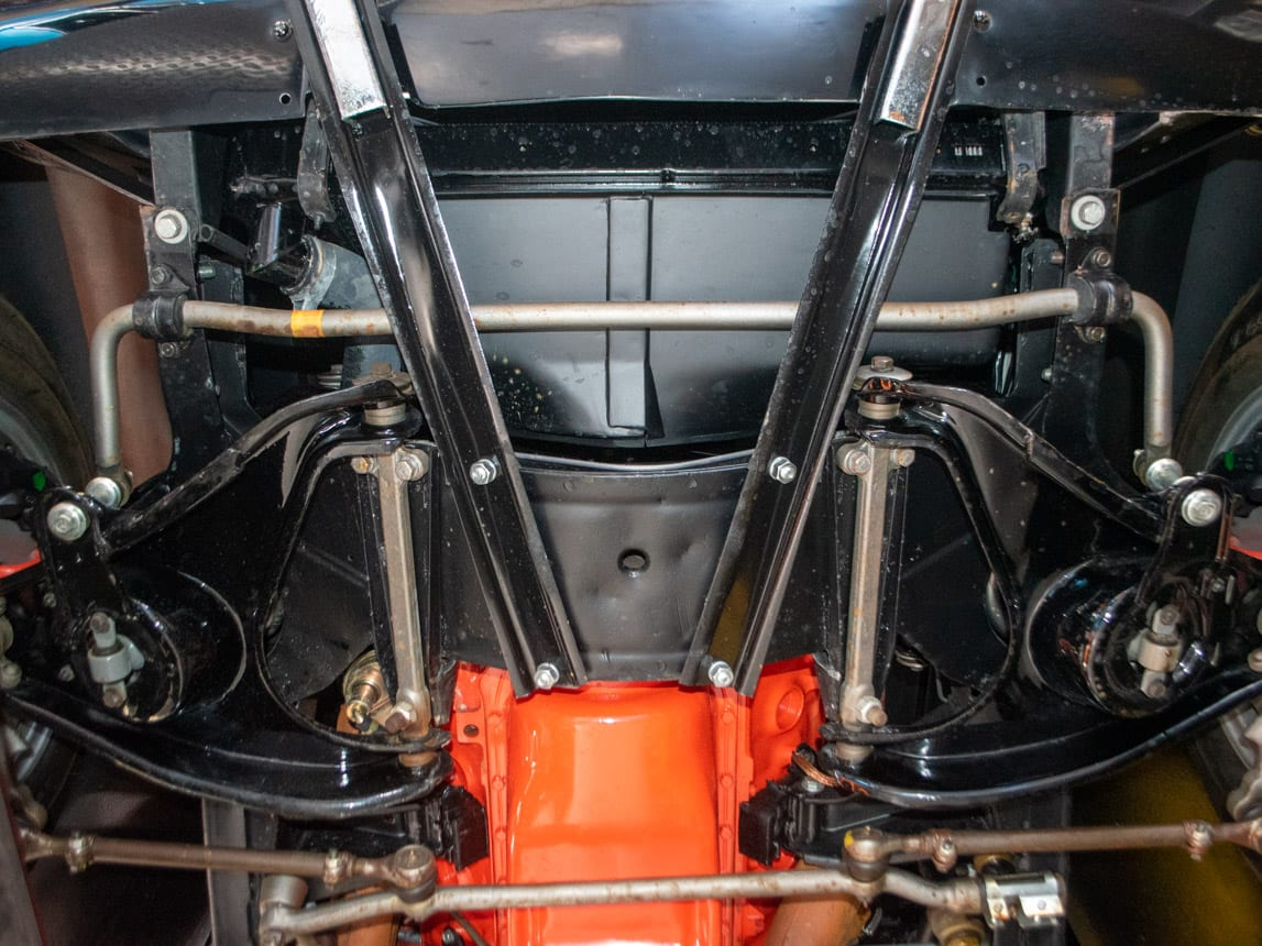 1967 Black Corvette L71 Convertible 0078