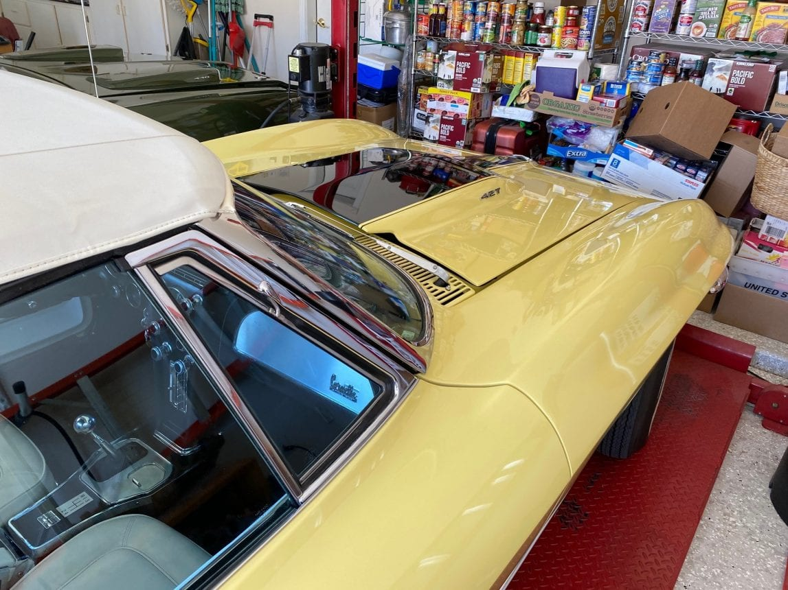 1967 Yellow 400hp 1