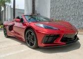 2021 Red C8 Corvette Convertible 0505