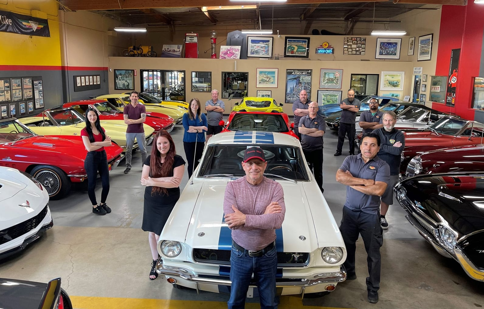 the team at corvette mikes