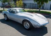1768 Silver Corvette L88 Convertible with original motor 0454