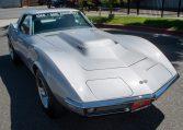 1768 Silver Corvette L88 Convertible with original motor 0456