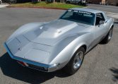 1768 Silver Corvette L88 Convertible with original motor 0458