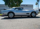 1768 Silver Corvette L88 Convertible with original motor 0463
