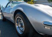 1768 Silver Corvette L88 Convertible with original motor 0466