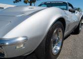 1768 Silver Corvette L88 Convertible with original motor 0468