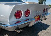 1768 Silver Corvette L88 Convertible with original motor 0470