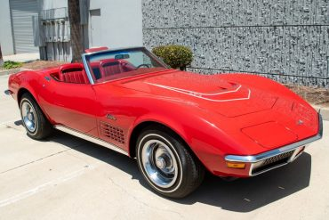 1971 Red Corvette LT 1 Survivor 0959