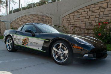 2008 Black Corvette Indianapolis 500 Pace Car Coupe