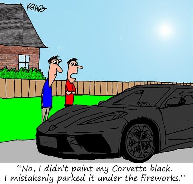 corvette comic 1