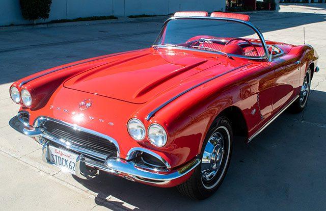 1962 red corvette special 1