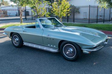 1966 Mosport Green Corvette L72 0407