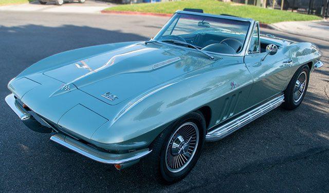 1966 mssport green corvette l72 coming 1