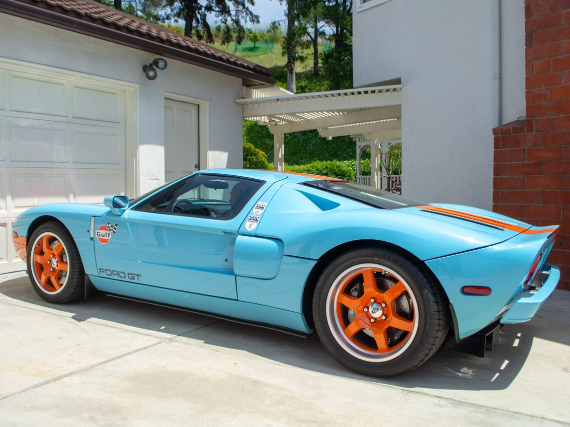 2006 Gulf Heritage 2006 Ford GT 0918 2