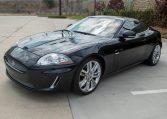 2010 Black Jaguar XKR