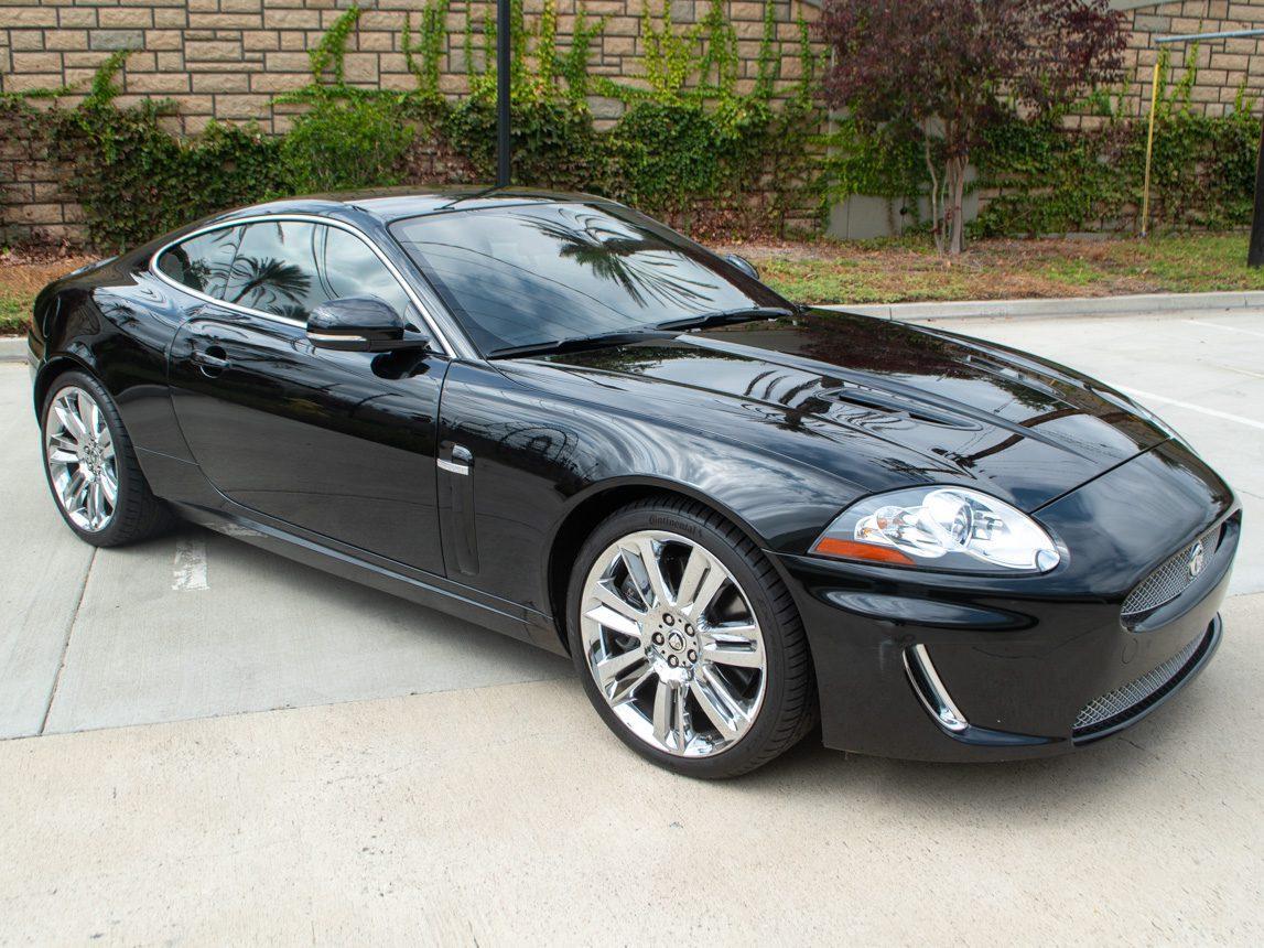 2010 Black Jaguar XKR 0834