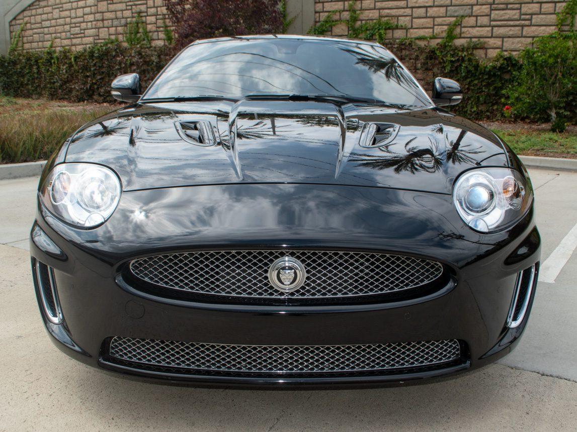 2010 Black Jaguar XKR 0837