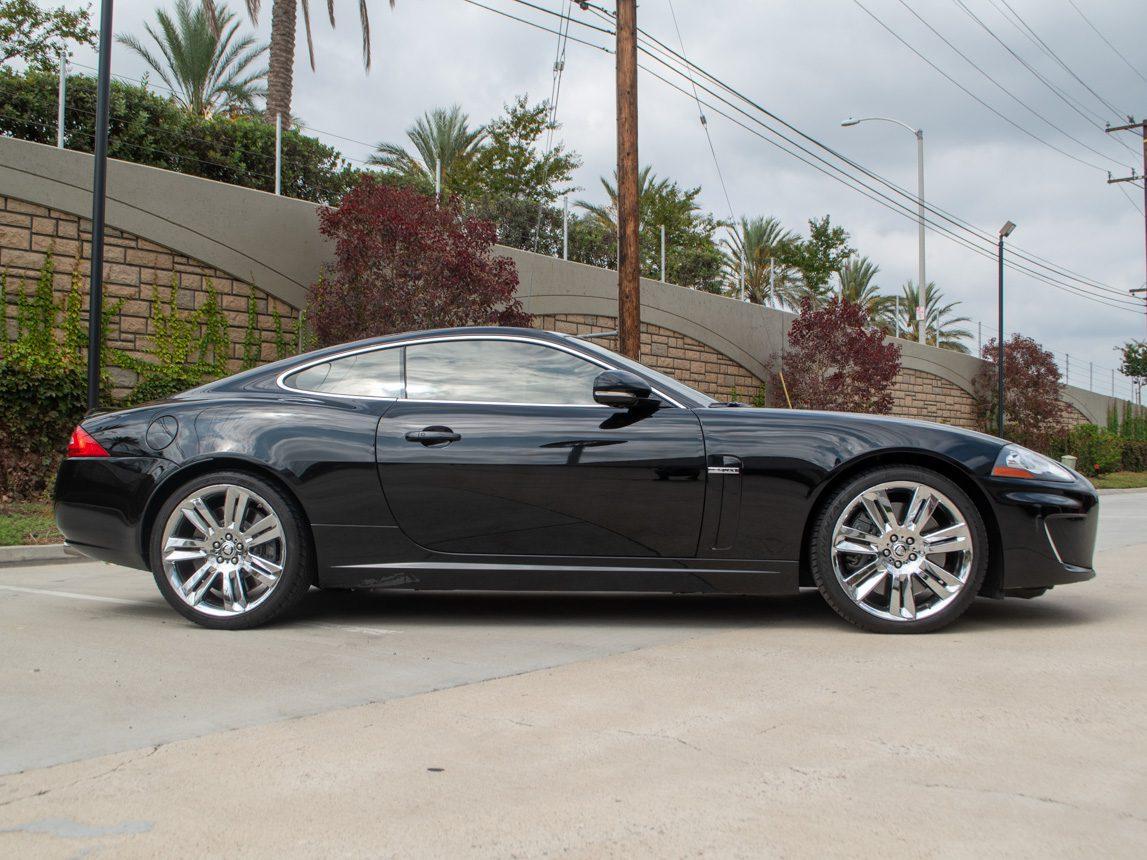 2010 Black Jaguar XKR 0844