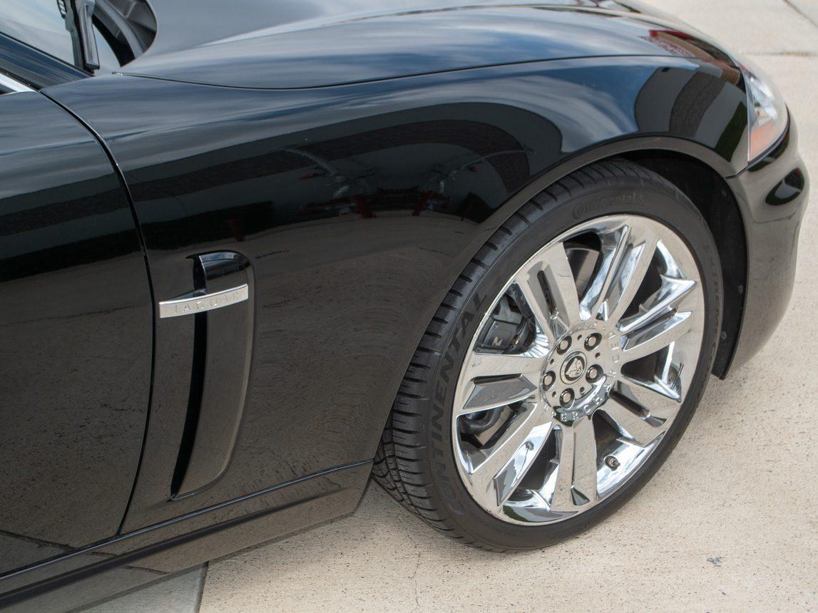 2010 Black Jaguar XKR 0845