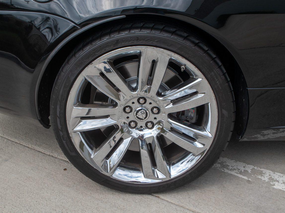 2010 Black Jaguar XKR 0846