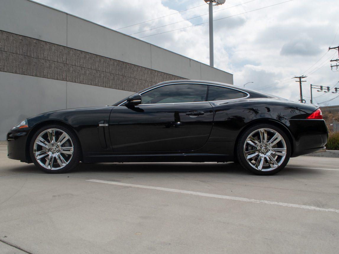 2010 Black Jaguar XKR 2