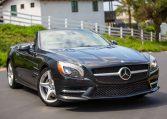 2013 Black Mercedes Benz SL 550 134