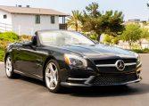 2013 Black Mercedes Benz SL 550 5