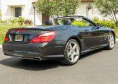 2013 Black Mercedes Benz SL 550 7