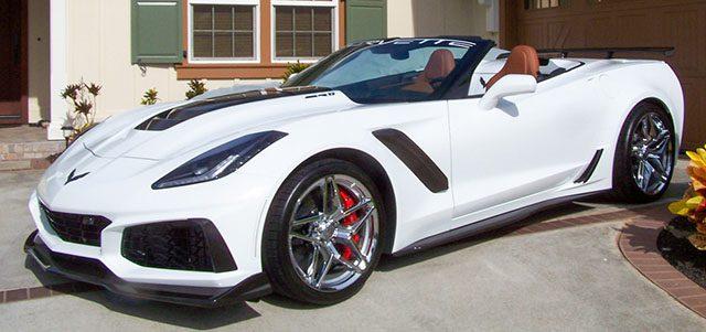 2019 white corvette zr1 3zl coming 1